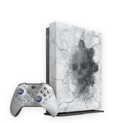 Limited Edition Gears 5 Xbox One X. Save £80.