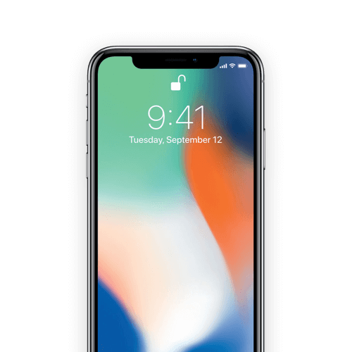 Up to 50% off all iPhone X.