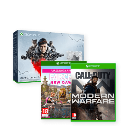 Call of duty Modern warefare + Farcry and more save £160.